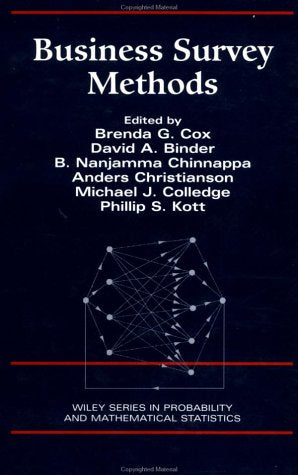 Business Survey Methods (Wiley Series in Probability and Statistics)
