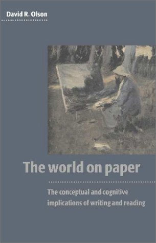 The World on Paper: The Conceptual and Cognitive Implications of Writing and Reading (Caci)