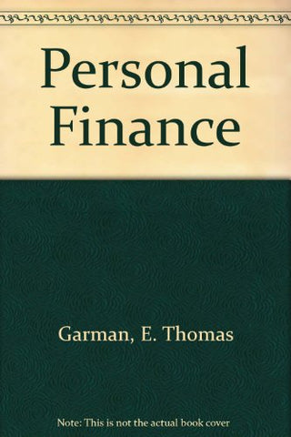 Garman Personal Finance With Your Guide To An A Passkey Ninth Edition