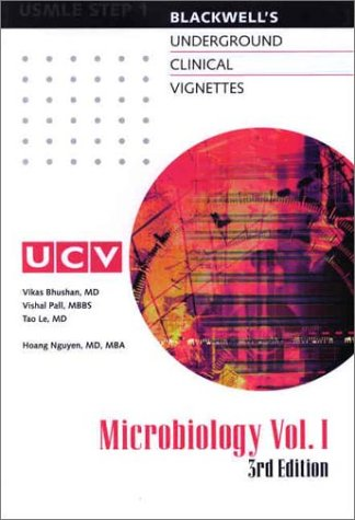 Underground Clinical Vignettes: Microbiology, Volume I: Classic Clinical Cases for USMLE Step 1 Review