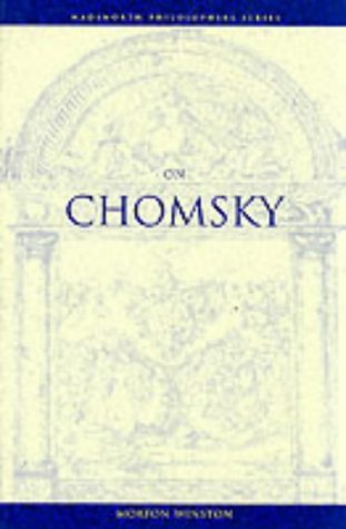 On Chomsky (Wadsworth Philosophers Series)