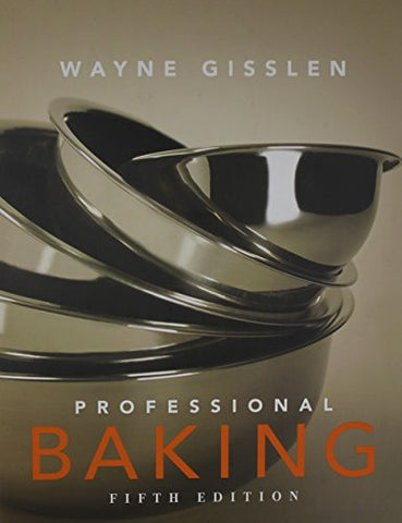 Professional Baking 5th Edition College Version w/CD-ROM with Study Guide Visual Food Lover's Guide and Professional Baking Methods Cards (4) Pkg Set