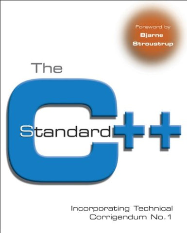 The C++ Standard: Incorporating Technical Corrigendum No.1
