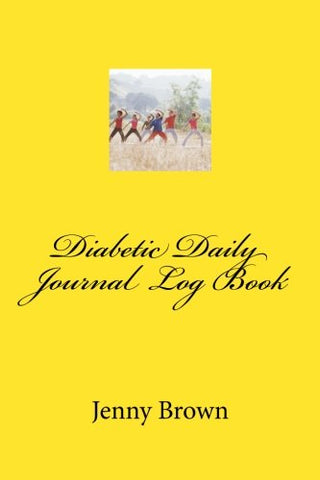 Diabetic Daily Journal Log Book