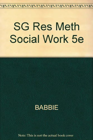 Practice Oriented Study Guide for Rubin/Babbie's Research Methods for Social Work, 5th