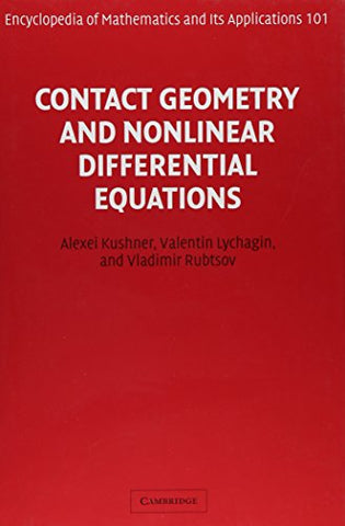 Contact Geometry and Nonlinear Differential Equations (Encyclopedia of Mathematics and its Applications)