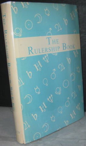 Rulership Book: A Directory of Astrological Correspondences