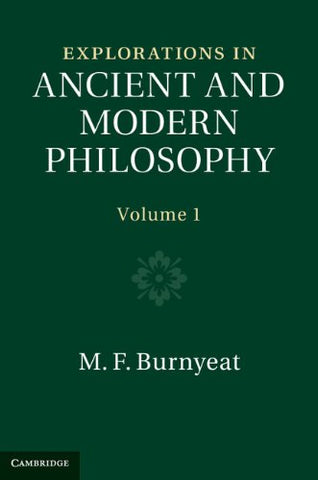 Explorations in Ancient and Modern Philosophy (Volume 1)