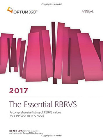 The Essential RBRVS Annual 2017