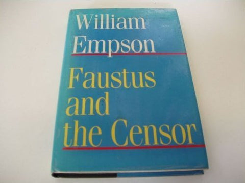 Faustus and the Censor: The English Faust-Book and Marlowe's Doctor Faustus