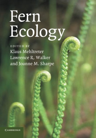 Fern Ecology (Volume 474)