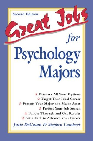 Great Jobs for Psychology Majors