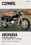 Clymer Honda Twinstar, Rebel 250 & Nighthawk 250: 1978-2003 (Clymer Motorcycle Repair)