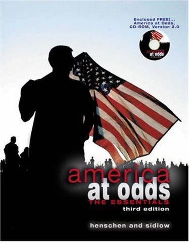 America at Odds: The Essentials (with CD-ROM and InfoTrac)