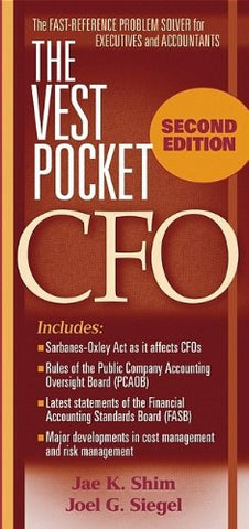 The Vest Pocket CFO