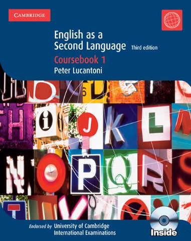 Cambridge English as a Second Language Coursebook 1 with Audio CDs (2) (Cambridge International IGCSE) (No. 1)