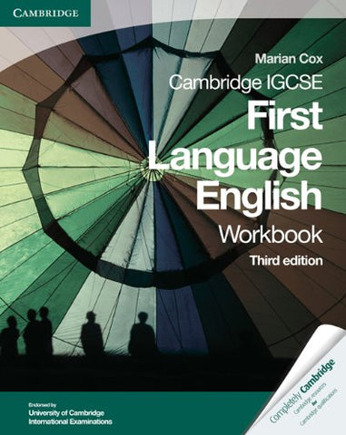Cambridge IGCSE First Language English Workbook (Cambridge International IGCSE)