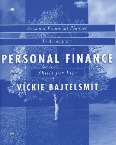 Financial Planner to accompany Personal Finance