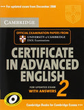 Cambridge Certificate in Advanced English 2:  For Updated Exam with Answers (No. 2)