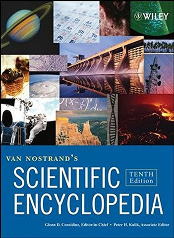 Van Nostrand's Scientific Encyclopedia, 3 Volume Set