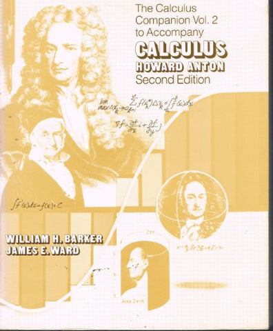 Calculus with Analytic Geometry: Calculus Companion to 2r.e. v.2 (Vol 2)