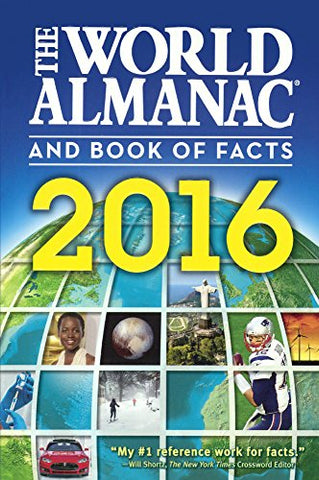 The World Almanac And Book Of Facts 2016 (Turtleback School & Library Binding Edition)