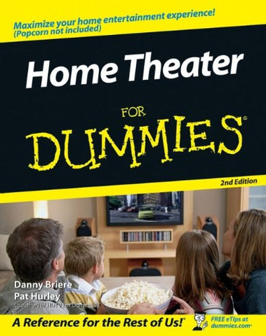 Home Theater For Dummies (For Dummies (Lifestyles Paperback))