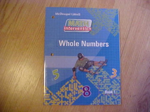 Algebra Readiness: Book Whole Numbers