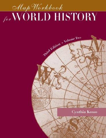 Map Workbook for World History, Volume Two