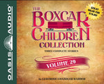 The Boxcar Children Collection Volume 29: The Disappearing Staircase Mystery, The Mystery on Blizzard Mountain, The Mystery of the Spider's Clue