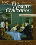Study Guide for Spielvogels's Western Civilization; Volume II Since 1550