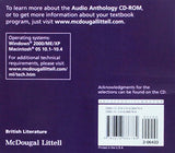 McDougal Littell Literature: Audio Anthology CD British Literature