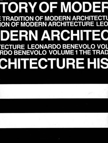 History of Modern Architecture - 2 Vol. Set