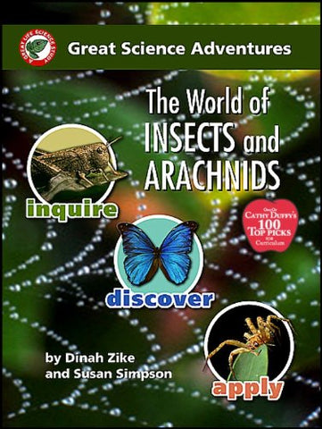 The world of insects and arachnids (Great science adventures)