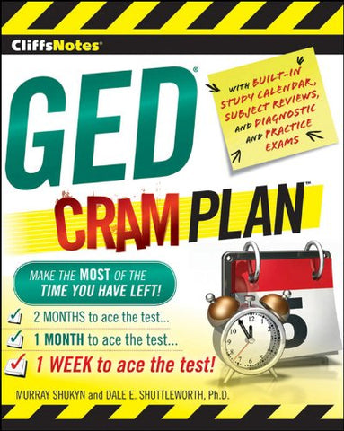 CliffsNotes GED Cram Plan (Cliffsnotes Cram Plan)