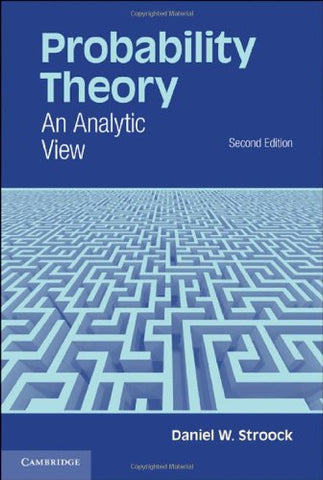 Probability Theory: An Analytic View