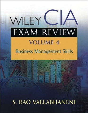 Wiley CIA Exam Review, Business Management Skills (Volume 4)