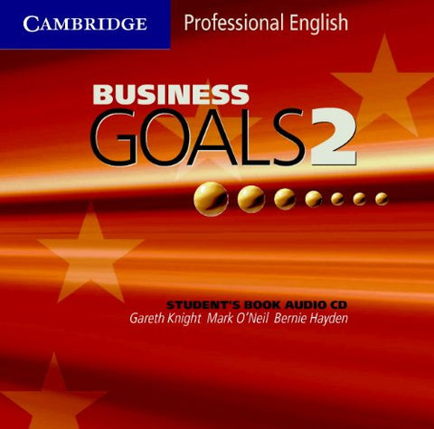 Business Goals 2 Audio CD