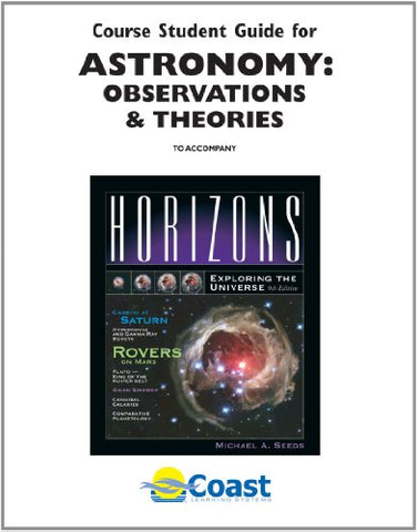 Telecourse Student Guide Astronomy: Observations