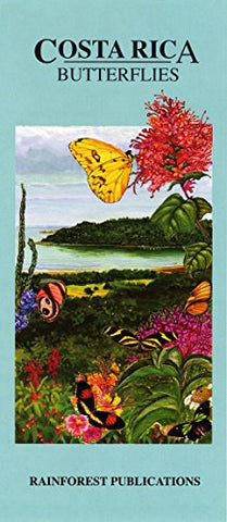 Costa Rica Butterflies Wildlife Guide (Laminated Foldout Pocket Field Guide) (English and Spanish Edition)
