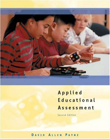 Applied Educational Assessment (with CD-ROM)