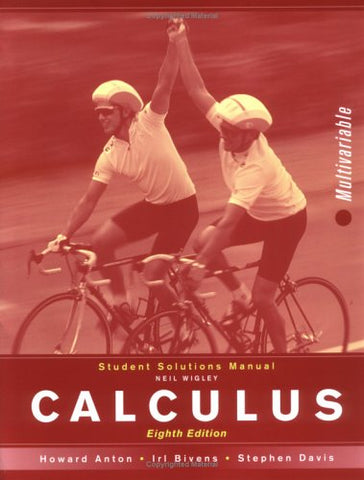 Calculus, Student Solutions Manual: MV: Multivariable
