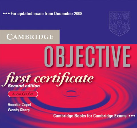 Objective First Certificate Audio CD Set (3 CDs)