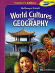 McDougal Littell Middle School World Cultures and Geography Tennessee: Teacher's Edition Grades 6-8 2008