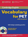 Cambridge Vocabulary for PET Student Book with Answers and Audio CD (Cambridge Books for Cambridge Exams)
