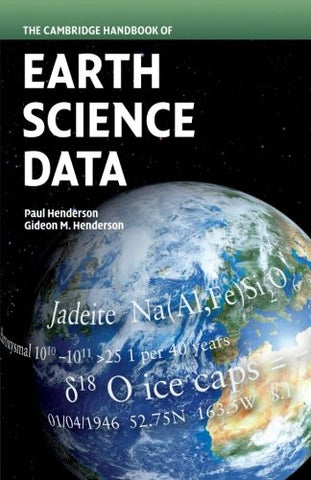 The Cambridge Handbook of Earth Science Data (Cambridge Handbook Of... (Paperback))
