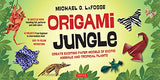 Origami Jungle Kit: Create Exciting Paper Models of Exotic Animals and Tropical Plants: Kit with 2 Origami Books, 42 Projects and 98 Origami Papers
