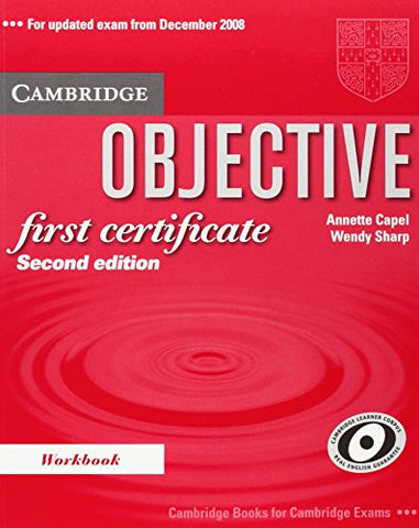 Objective First Certificate Workbook