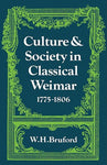 Culture and Society in Classical Weimar 1775-1806