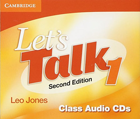 Let's Talk Level 1 Class Audio CDs (3)